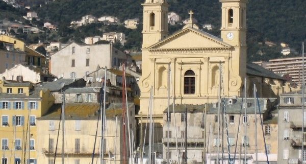 Bastia Vieux Port Eglise St Jean Baptiste