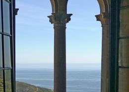 vue sur mer depuis la chambre Macinaggio